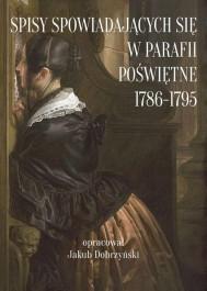 Spisy spowiadających się w parafii Poświętne 1786 - 1795