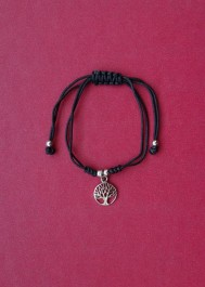 Bracelet with silver pendant