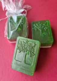Hand-made natural soap