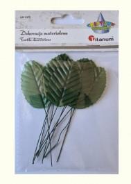 Fabric leaves 10 pcs.