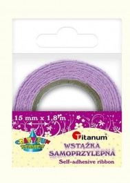 Athesive lavender lace tape
