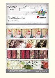 Taśma tekstylna Vintage
